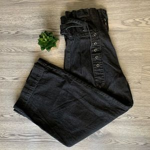 Urban Outfitters Karina Belted Paperbag Jeans